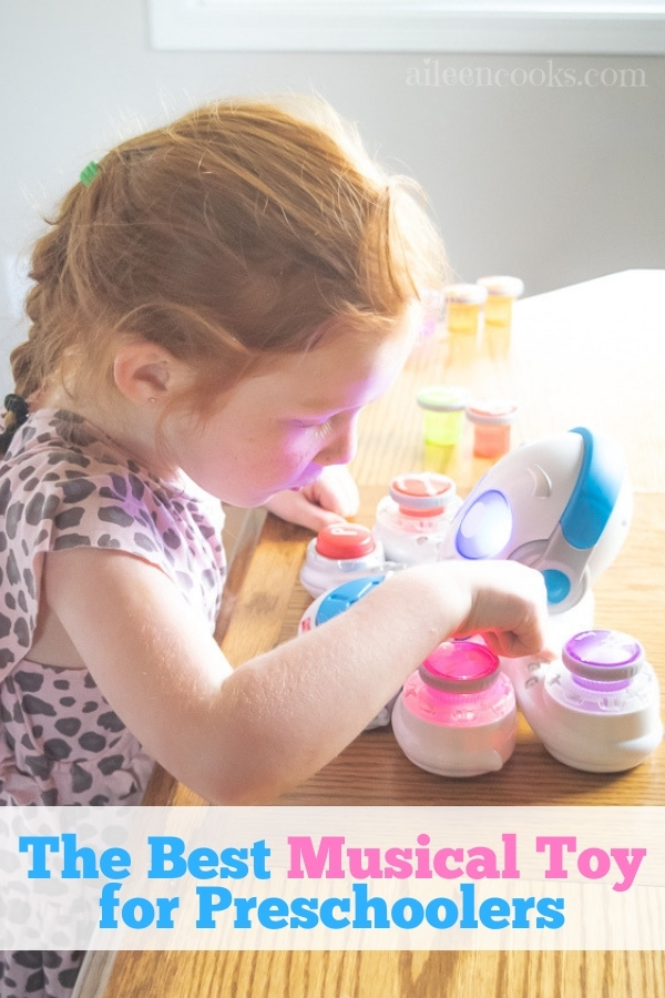 See why this is the best musical toy for preschoolers and why it teaches more than just music!