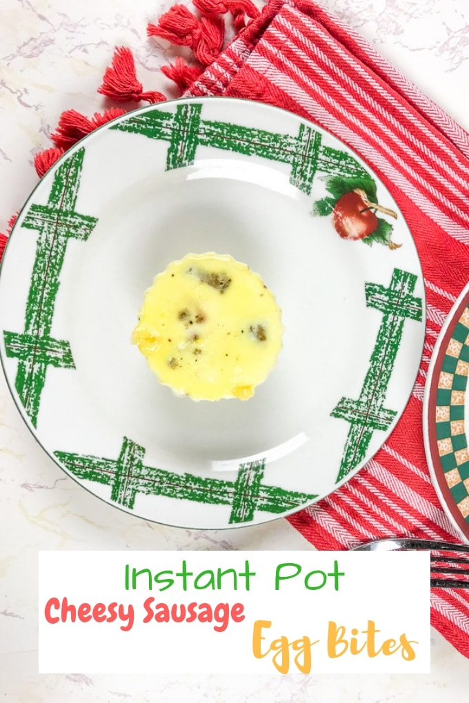 Whip up a batch of these cheesy sausage instant pot egg bites in just 5 minutes! Egg bites will be your new favorite go-to breakfast. They are so easy to make and come out tasting great every time.