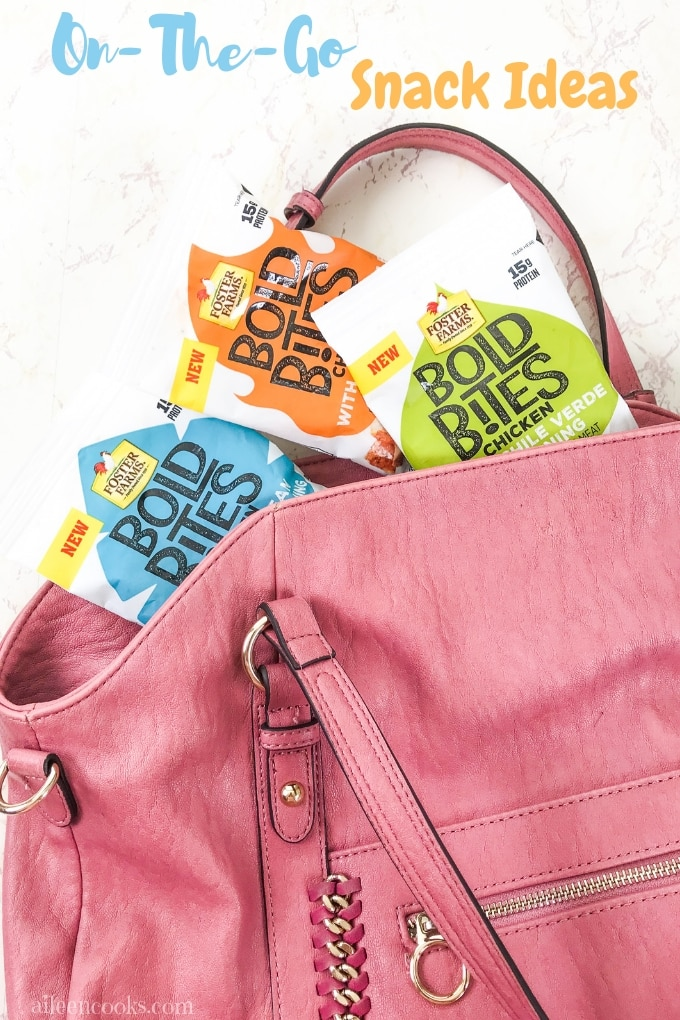 Are you looking for a healthy and tasty snack to give to your family during busy days? Come and see why Foster Farms Bold Bites is a great option for your snack time on-the-go.