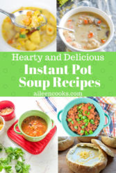 All of the best instant pot soup recipes one picture!