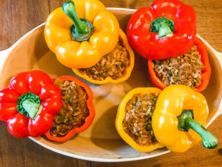 Instant Pot Taco Stuffed Peppers
