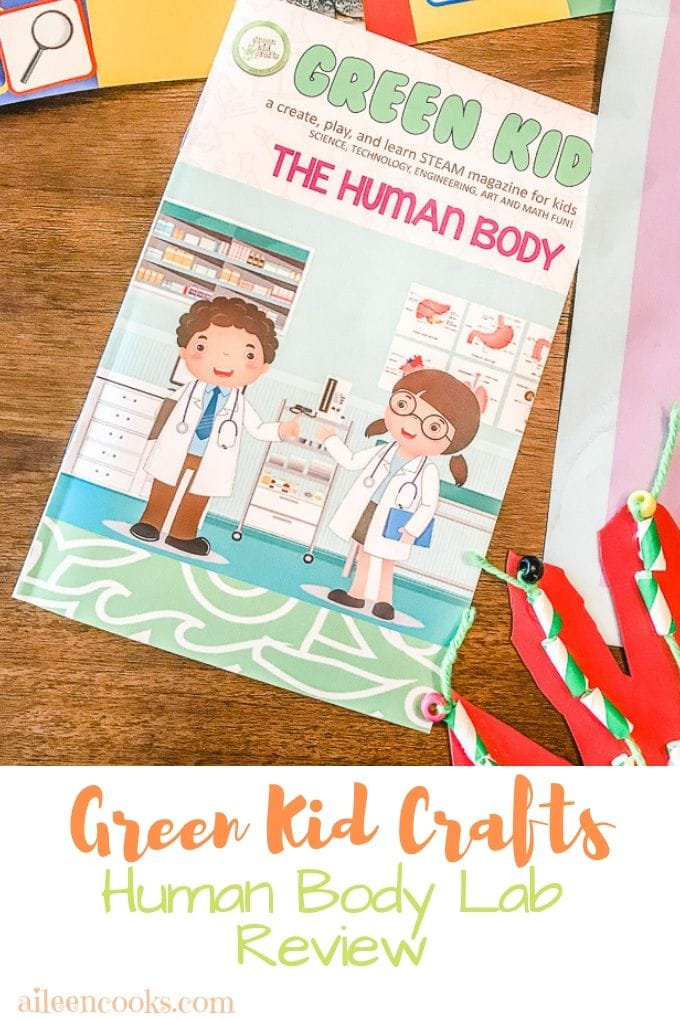Green Kid Crafts Review Human Body Lab Aileen Cooks