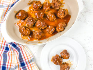 Instant Pot Meatballs with BBQ Sauce