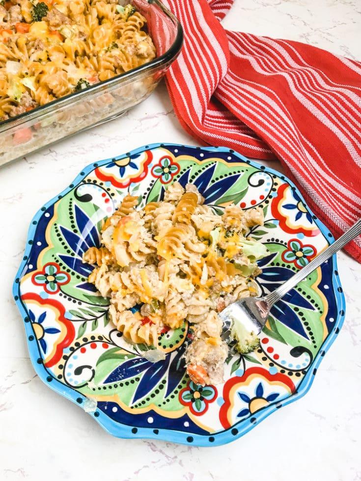 Turkey Noodle Casserole Recipe