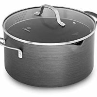 Calphalon Classic Nonstick Dutch Oven with Cover, 7 quart, Grey