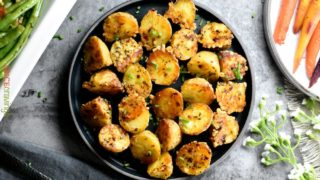 Parmesan Roasted Potatoes – Instant Pot & Oven