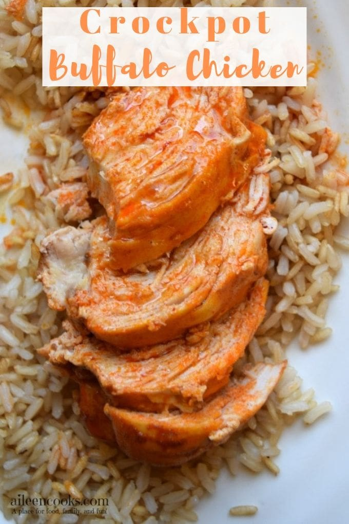 Crockpot buffalo chicken is one of those easy weeknight meals that you can toss together in less than 10 minutes and come home to a healthy and delicious meal. It's made with just 5 simple ingredients that you may already have on hand in your kitchen.