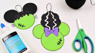 Free Printable Disney Halloween Frankenstein Craft