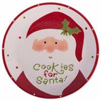 DII Ceramic, Santa Cookie Plate
