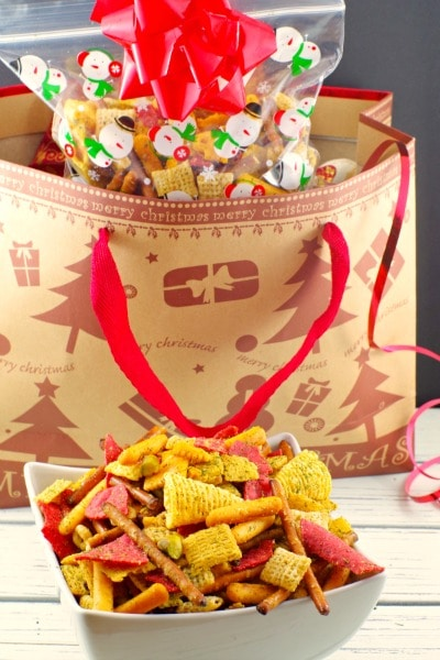 Savory Holiday Chex Mix