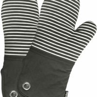 Silicone Groment Oven Mitts with Heat Resistant Non-Slip Set of 2