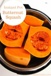 A pot with butternut squash.