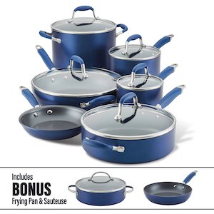 Anolon pot and pan set