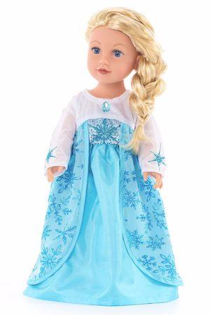 Doll in Elsa dress