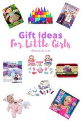 Pinterest long image for girls gift guide.