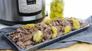 Instant Pot Italian Beef Recipe