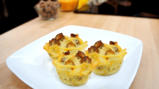 Maple Sausage Brunch bites | brunch potluck idea