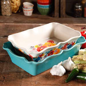 two piece bakeware set