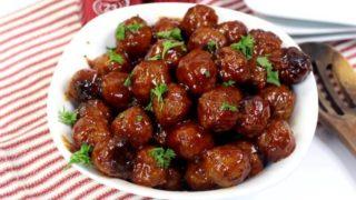 Instant Pot Cocktail Meatballs Recipe