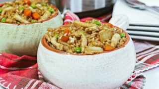 Instant Pot Chicken Fried Rice Recipe