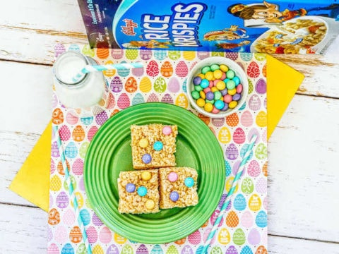 Easter Rice Krispie Treats Recipe