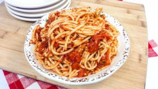 Instant Pot Spicy Spaghetti Recipe