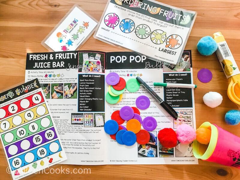 "An open magazine with the words ""Pop Pop Process Art""."