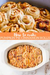 Pumpkin Pie Rolls