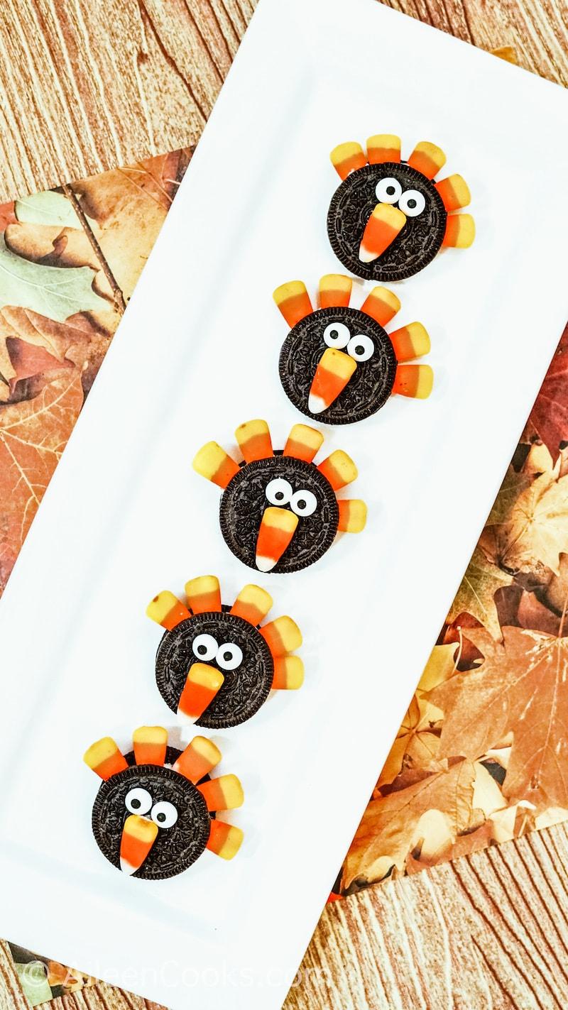 turkey oreos dessert idea