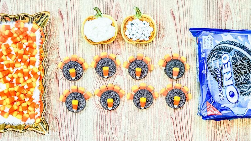 how to make turkey oreos