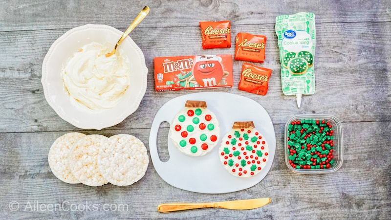 How to Make Rice Cake Ornaments: Ingredients