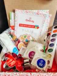 Inside the Baketivity baking subscription box for kids.