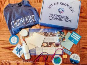 Inside a tier 1 Kit of Kindness.